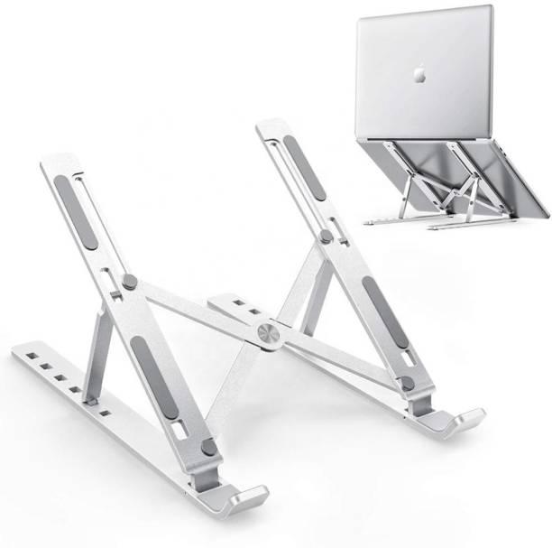 Pick Ur Needs Universal Ergonomic Laptop Tablet Stand, Foldable Portable Ventilated Desktop Laptop Holder Lightweight  Gaming Accessory Kit