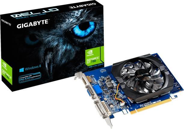 GIGABYTE NVIDIA GeForce GT 730 2 GB DDR3 Graphics Card