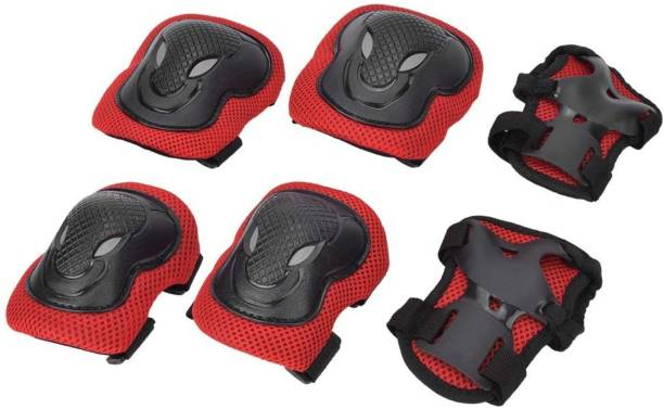 FABSPORTS Knee & Elbow Pads/Guards for 10 years+ Protective Gear Set for Skating, Cycling Skating Guard Combo