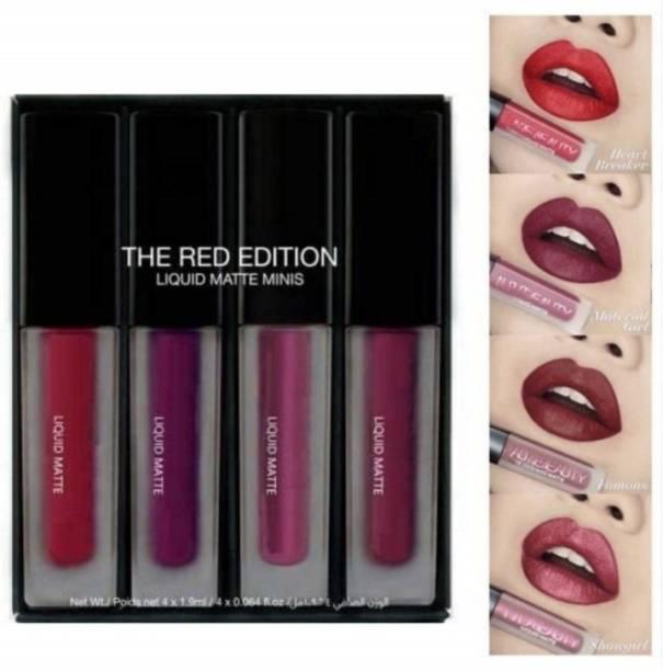 hipbrat Super Quality Matte me Mini Red edition Liquid Lipstick