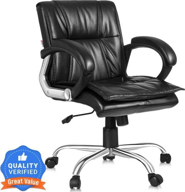MBTC Marvel Leatherette Office Arm Chair
