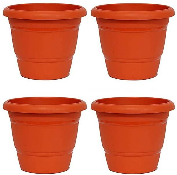 MOP'N'ME Home and Garden Decor Fancy Flower Planter Pot Plant Container Set