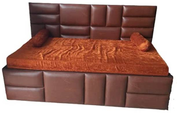 furniture Galiara DCB501BN Double Solid Wood Sofa Sectional Bed