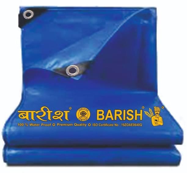 Barish Tarpaulin Sheet Waterproof Heavy Duty 6ft x 9ft 120 GSM Multipurpose Plastic Tent - For Truck, Roof, Sun, Outdoor, Rain