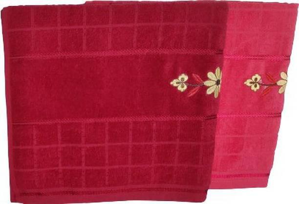 A One Cotton 350 GSM Bath Towel Set