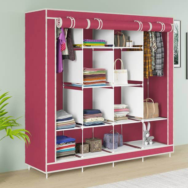 CONTINENTAL Polyester Collapsible Wardrobe