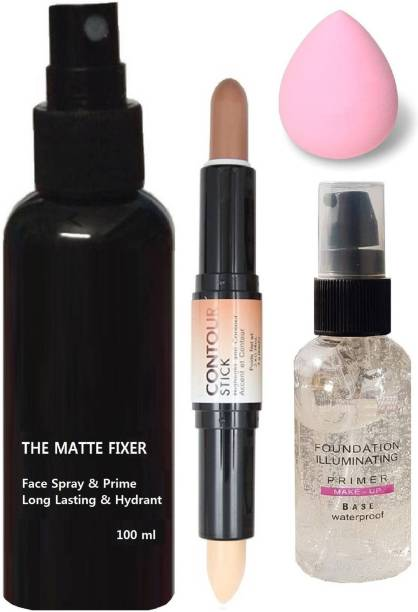 Prefetto COSMO COMBO OF PRIMER, FIXER, CONCEALER AND PUFF