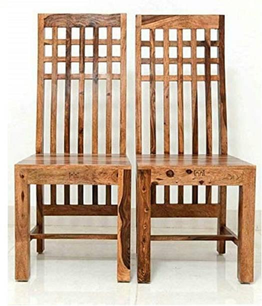 PR FURNITURE Premium Quality Solid Wood Dining Chair Set Of Six Solid Wood Dining Chair