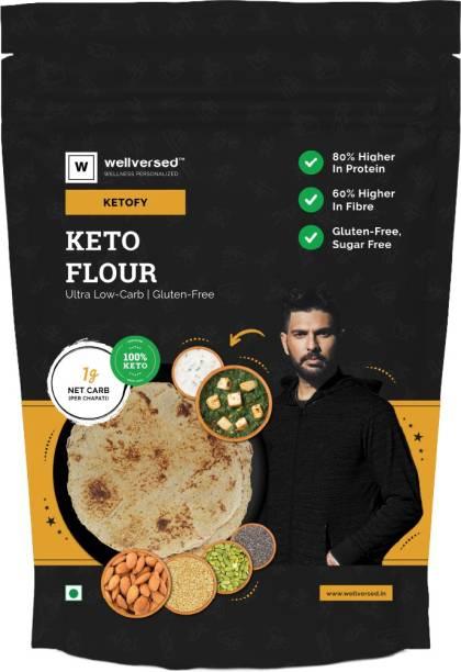 Ketofy Keto Flour (3Kg) | Healthiest Low Carb Keto Atta | 1g Net Carb Per Roti | Gluten Free | Ultra Low Glycemic