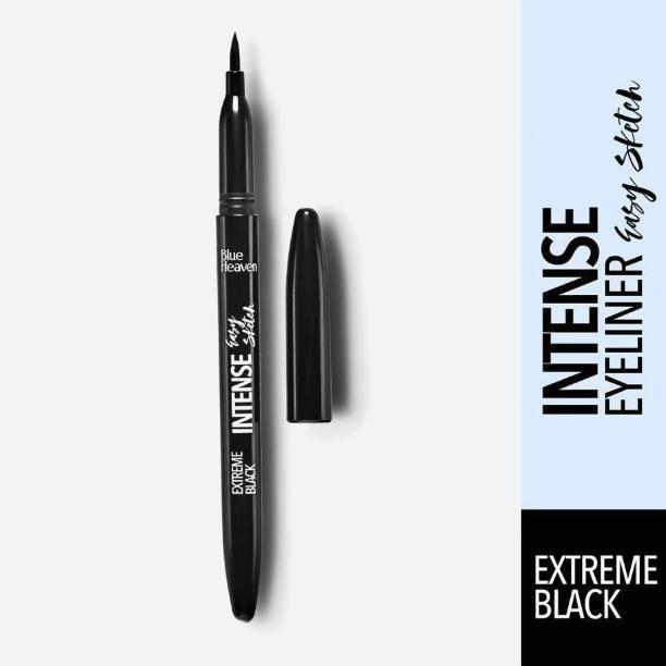 BLUE HEAVEN Sketch Eye Liner Smudge Free Water Resistant Long Wear 10 ml (BLACK)