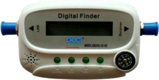 dbc Satellite Finder Signal meter with Buzzer sound & compass with led Screen Suitable for All Dth Satellite finder Best Brand Digital Satellie Finder S2-40 Non-magnetic Engineer's Precision Level