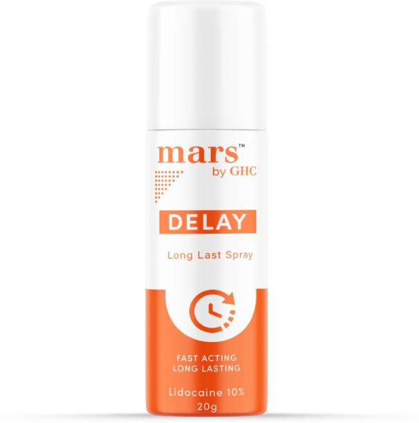 mars by GHC Delay Stay Long Spray for men | Non- transferrable | Long lasting performance Lubricant