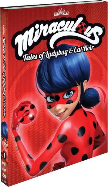 Miraculous: Tales Of Ladybugs & Cat Noir Season 1 - Volume 1 (Region 2) (Fully Packaged Import)
