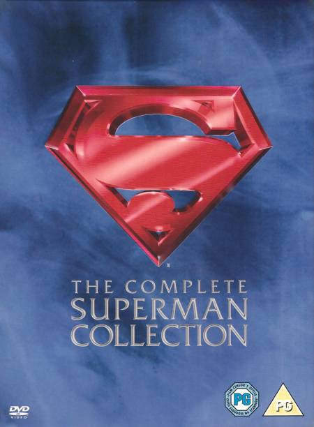The Complete Superman Collection: 4 Movies - Superman 1 to 3 + The Quest for Peace (4-Disc Box Set) (Region 2) (Slipcase with Digi-Pack + Fully Packaged Import)