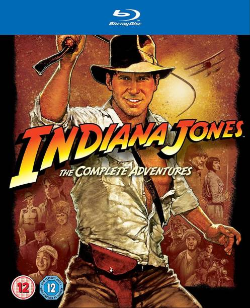 The Indiana Jones: The Complete Adventures Collection (5-Disc Box Set Includes 4 Movies + Bonus Disc) (Slipcase Packaging + Fully Packaged Import)