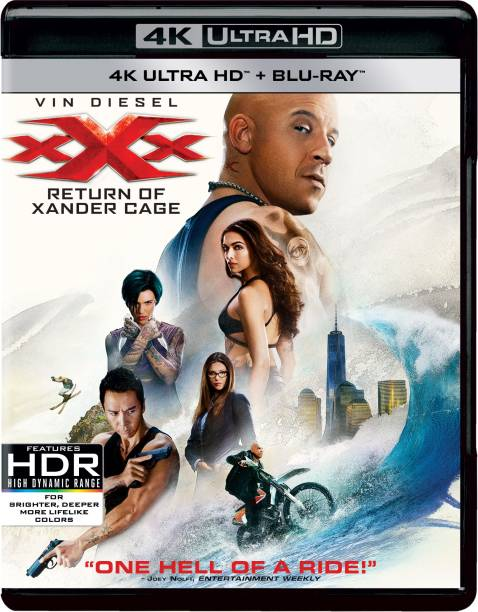 Xxx: Return Of Xander Cage (2017) (4K UHD + Blu-ray) (2-Disc Set) (Region Free) (Fully Packaged Import)