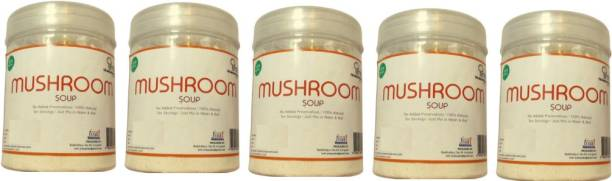 The Mushroom Hub Soup 100 Gms | Pack of 5 | Health Food | Soup for Breakfast | Supper Meal