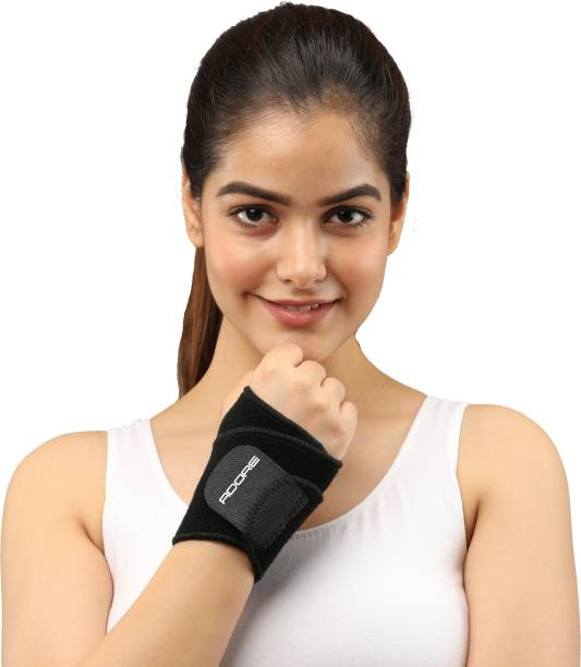 ADORE SUPPORTING HEALTH Wrist Support With Thumb - Neoprene FREE SIZE Wrist Support
