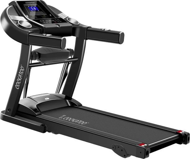 COCKATOO CTM -04 2 HP Peak With Massager� Treadmill
