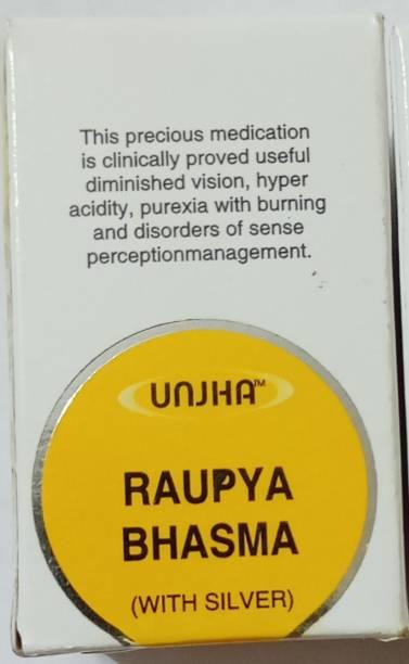 Unjha Raupya bhasma(chandi bhasam)