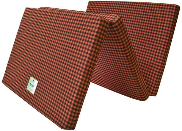 Merry Fashion Fold Mattress 2 inch Single Cotton 2 inch Single EPE Foam Mattress