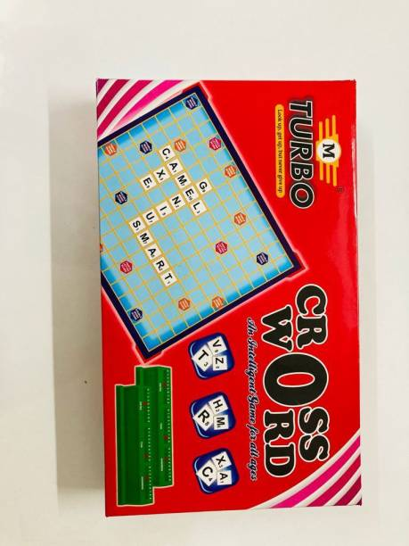 TURBO Crossword Game Word Games Board Game Board Game Accessories Board Game