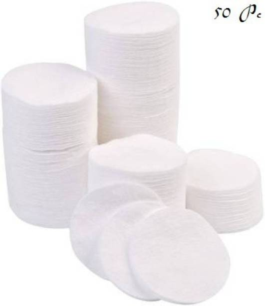 J & F Round Cotton Pad For Makeup remove 50 Pc Makeup Remover