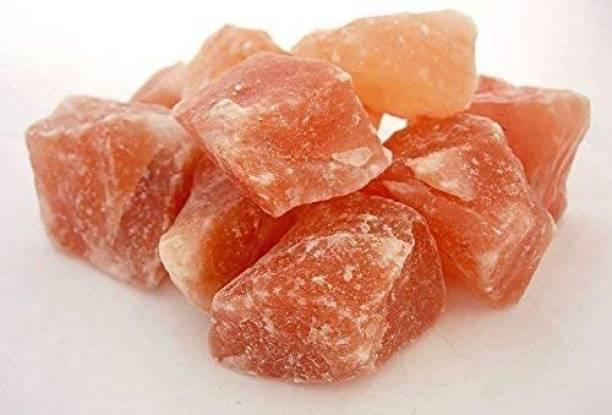 Freshtige Himalayan Pink Rock Salt Chunks, Sendha Namak Whole Crystal, Namak Chunks Himalayan Rock Salt