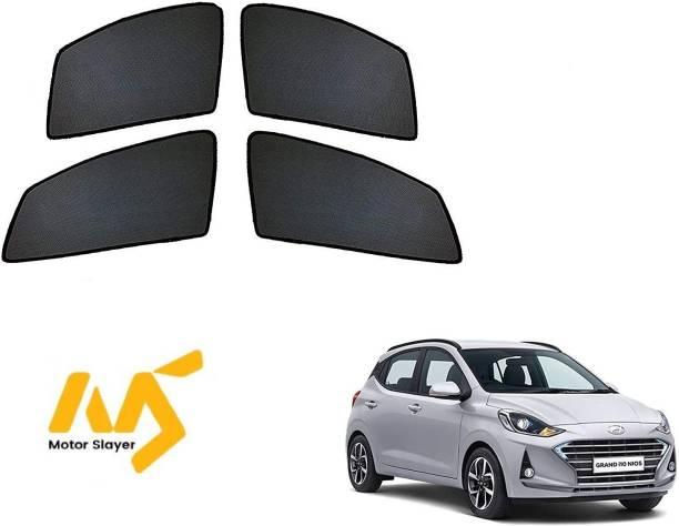 MOTORSLAYER Side Window Sun Shade For Hyundai Grand i10 NIOS