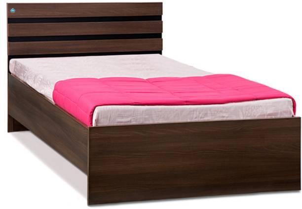Delite Kom Cocoa Engineered Wood Single Bed