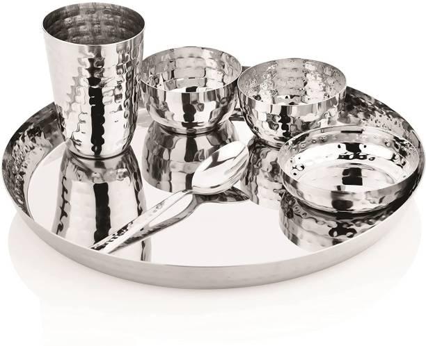 SPRINGWAY Pack of 6 Stainless Steel KingKraft 6pcs Dinner Set