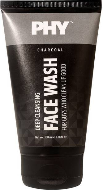 Phy Charcoal  Face Wash