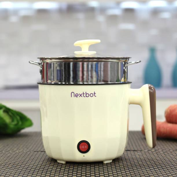 Nextbot Multipurpose Cooking Pot + Steel Steamer Food Steamer