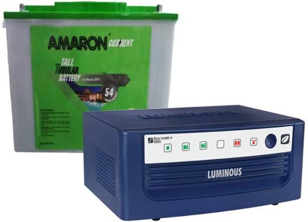 amaron AAM-CR-AR200TT54+ EcoWattNeo-1050 Tubular Inverter Battery