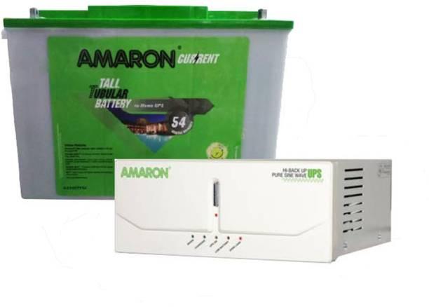 amaron AAM-CR-AR200TT54+675VA Tubular Inverter Battery