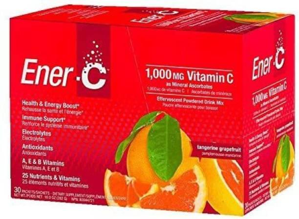 Ener-C Vitamin Drink Mix, Tangerine Grapefruit, 1000 Mg, 30 Count