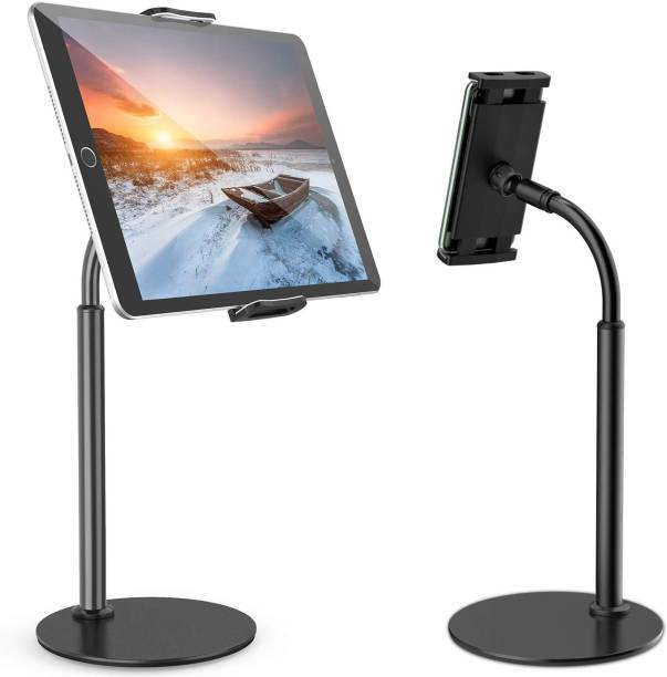 ROQ Tablet Stand Holder for iPad with 360 Degree Rotating, Desktop Tablet Stand ack) Mobile Holder