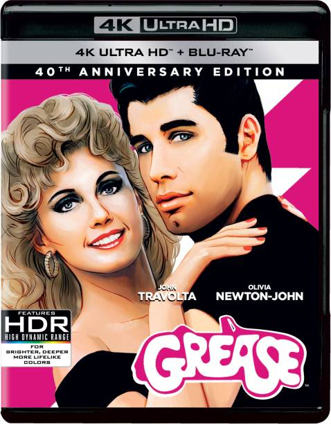 Grease: 40Th Anniversary Edition (4K UHD + Blu-ray) (Region Free) (Fully Packaged Import)