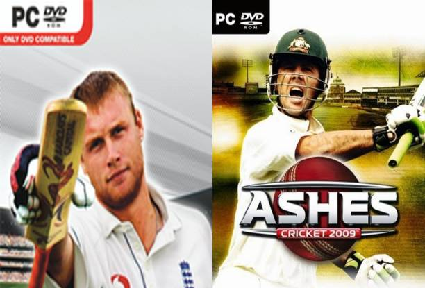VGPCYS Cricket 07 and Ashes Cricket 09 COMBO of Two Sports Game (Regular)