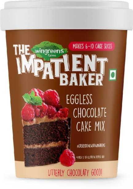 WINGREENS Easy Eggless Chocolate Cake Mix 300 g