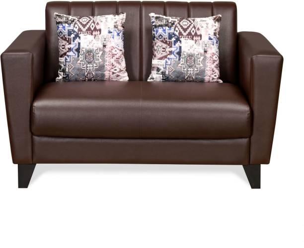 @Home by nilkamal JOY Leatherette 2 Seater  Sofa