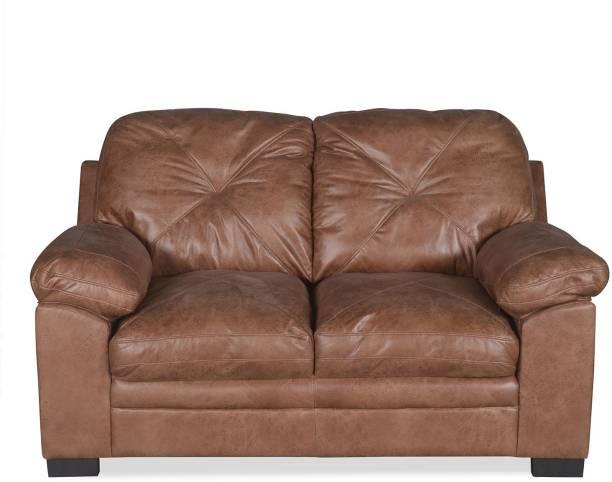 @Home by nilkamal Kathleen Leatherette 2 Seater  Sofa