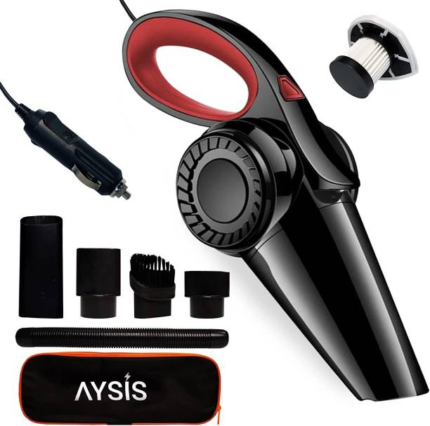 Zinsy 12V High Power Wet & Dry Portable Handheld Car Vacuum Cleaner Car Vacuum Cleaner with Anti-Bacterial Cleaning, 2 in 1 Mopping and Vacuum, Anti-Bacterial Cleaning, Reusable Dust BagH HAVY new 2021 balack and Golden New new car vacuum red Car Vacuum Cleaner with 2 in 1 Mopping and Vacuum