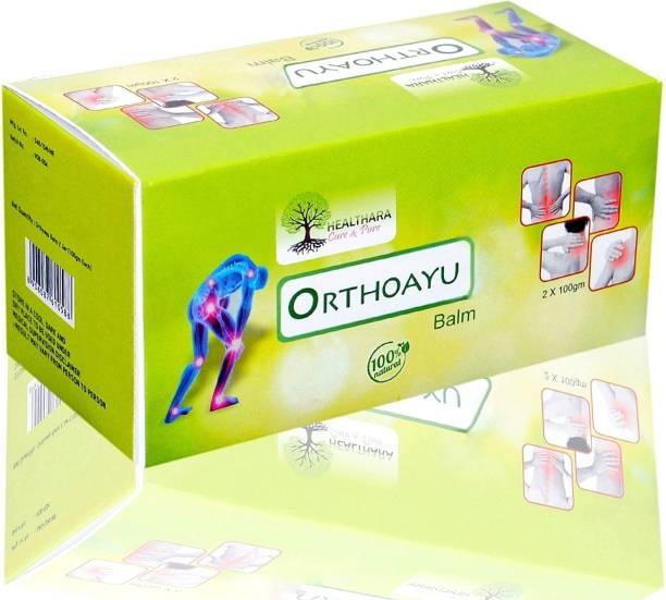Healthara Cure & Pure Orthoayu Pain Relief Balm Gel (An Ayurvedic Balm) Balm