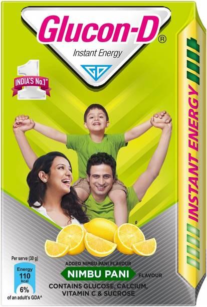 GLUCON-D Instant Energy Nimbu Pani 450 Gram Energy Drink