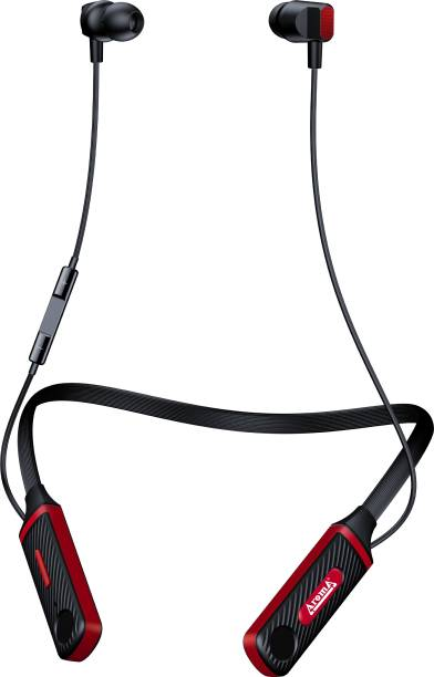 Aroma NB120 PRO BIGTIME - 60 Hours Playtime Bluetooth Neckband Bluetooth Headset
