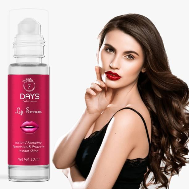 7 Days Lip Serum Oil For Strawberry Flavour , Lip Shine, Glossy, Soft With Moisturizer, Lip Lightening Serum for Dark Lips ,Lip Serum oil- For Soft and Moisturized Lips Strawberry Strawberry Flavour
