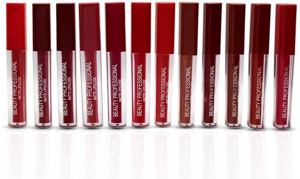 SKINPLUS Fashion Colour Non Transfer Lipstick (pack of 12)