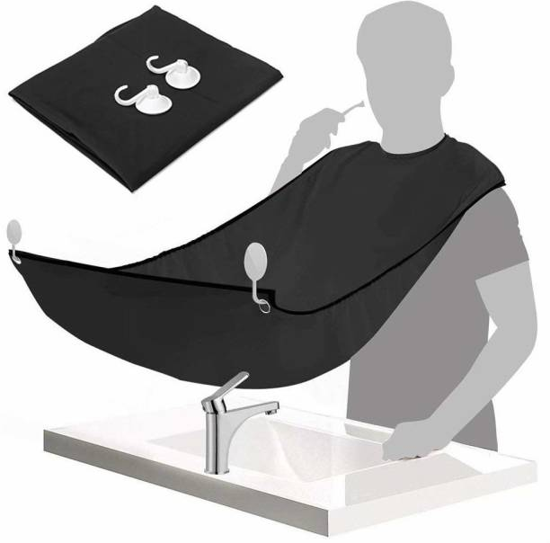 MYYNTI Non-Stick Hair Catcher Grooming Cloth Beard Trimming Bib for Men Waterproof Apron for Beard Shaving Hair Catcher Gifts for Men Makeup Apron