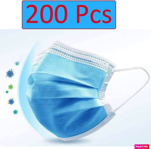 TAOS 3 ply surgical/ disposable face masks -200pcs with meltblown fabric and internal nose pin SURGICAL-200 q21 Surgical Mask With Melt Blown Fabric Layer